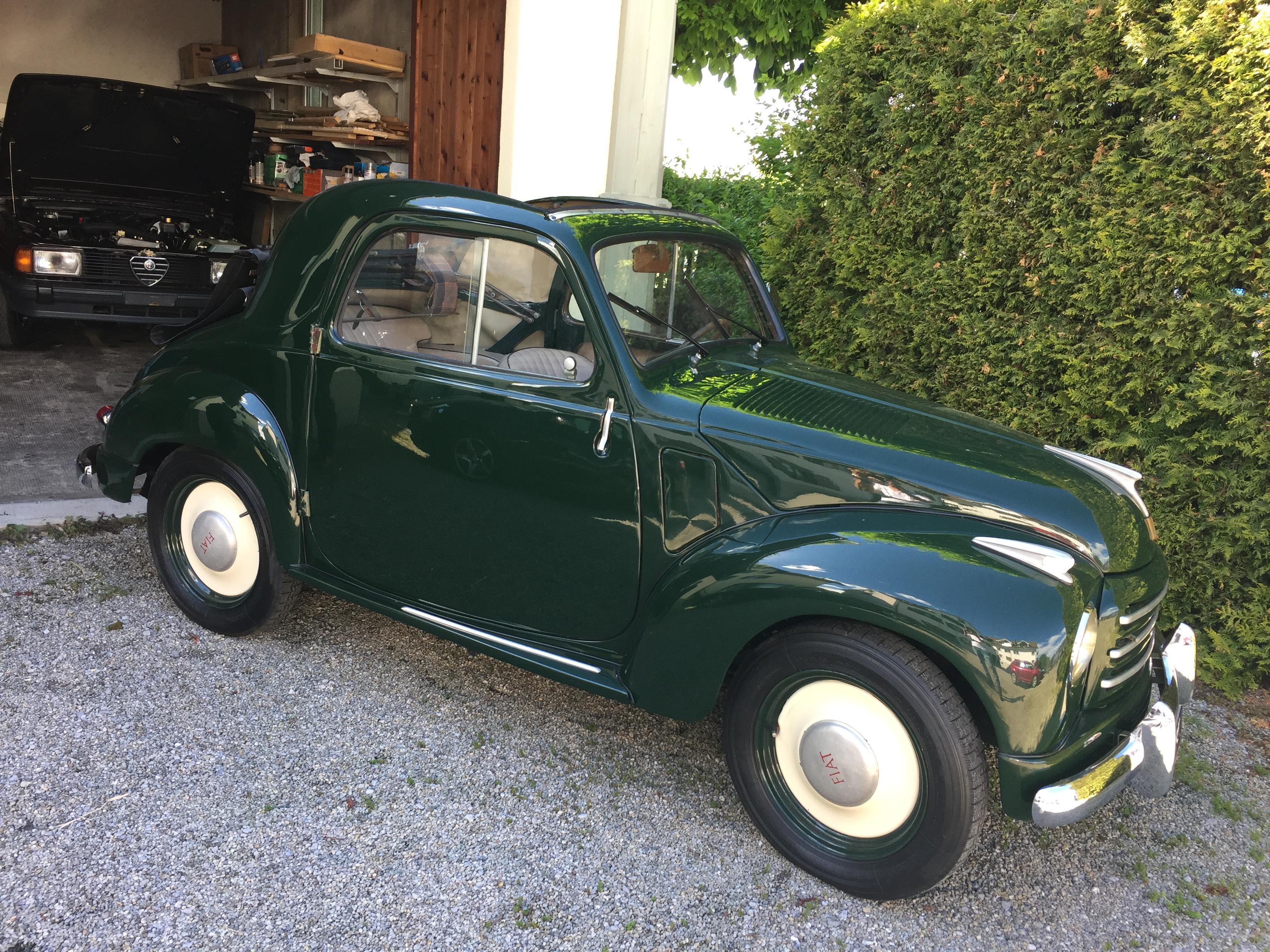Fiat 500 C Topolino 1954 Cafai Cars Gmbh